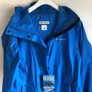 Columbia Jackets & Coats - Columbia Women Weatherproof Trench Coat Blue XL